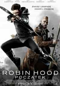 plakat filmu Robin hood początek 2018