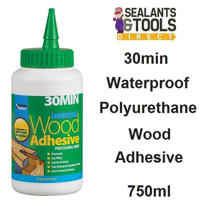 Everbuild Lumberjack Wood Adhesive 30 Minute 750g 30MINPU7