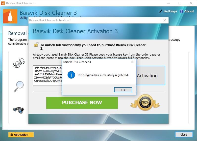 Baisvik Disk Cleaner Licenta Gratis