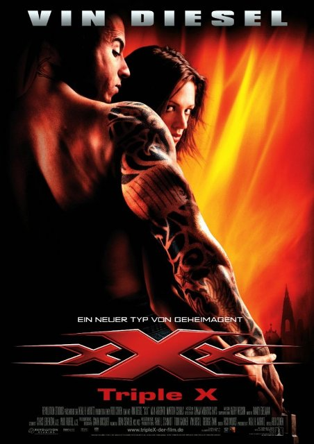 xXx (2002) BluRay 720p 800MB