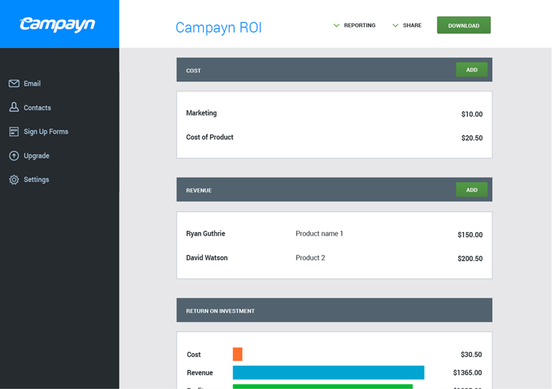 Campayn MailChimp Alternative