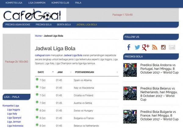Info Jadwal Bola terupdate amat dibutuhkan buat kalian pecinta bola jadwal_liga_bola