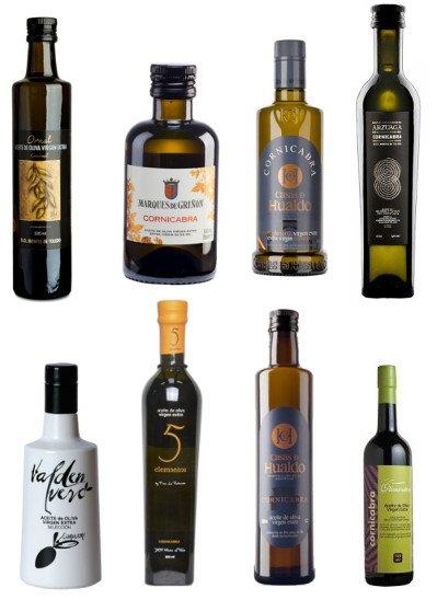 Aceite de oliva Virgen Extra Cornicabra, aceites Premium, botella cristal 250 ml, 500ml y 1l