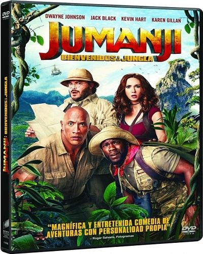 descargar Jumanji: Bienvenidos a la jungla (2017)[DVDRip][Castellano][Aventuras][VS] gratis