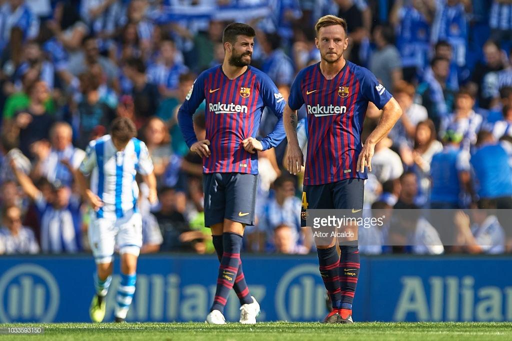 صور مباراة : ريال سوسيداد - برشلونة 1-2 ( 15-09-2018 ) P