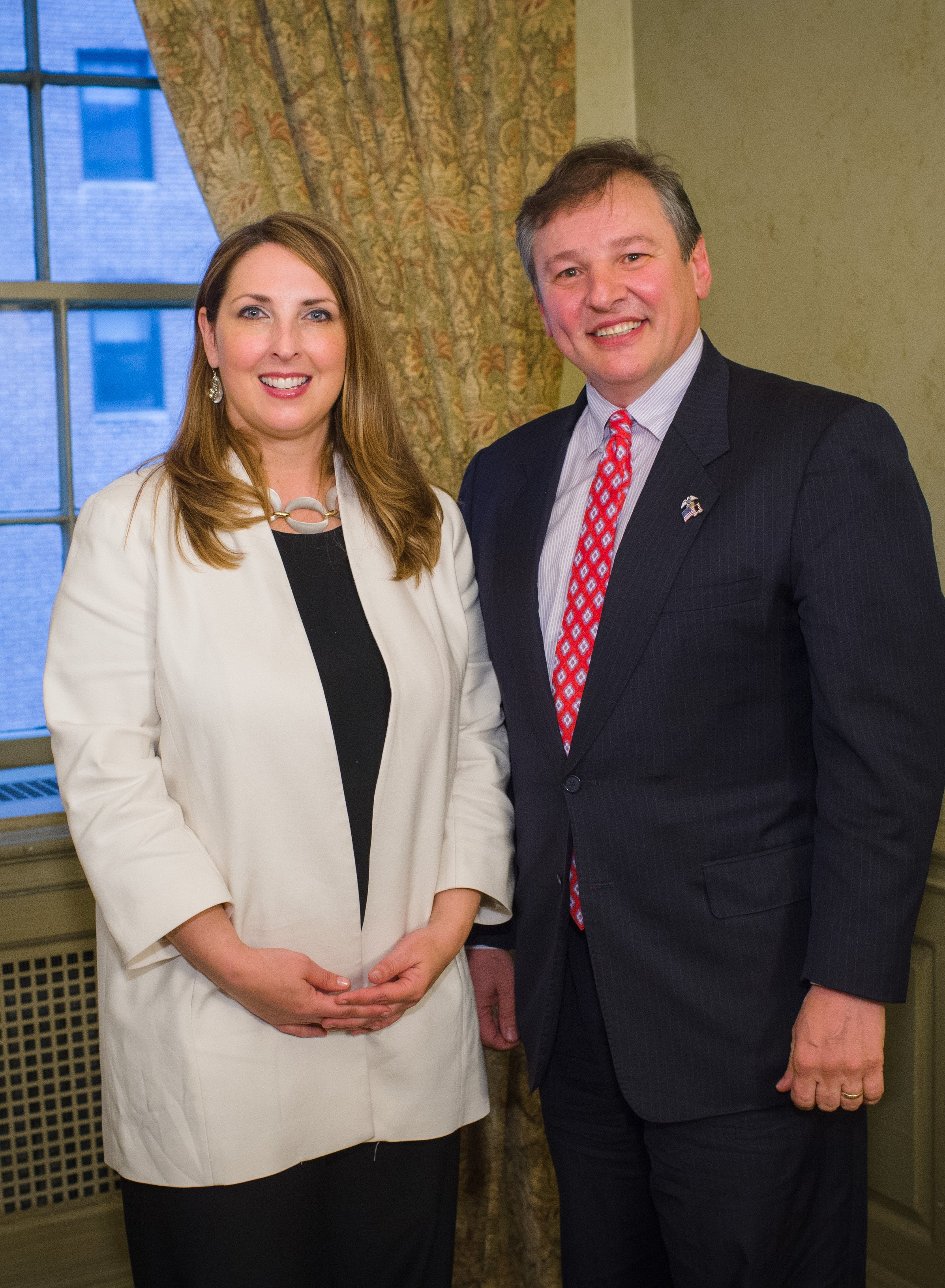 Pat LaVecchia and Ronna McDaniel, Chair of the Republican National Committee