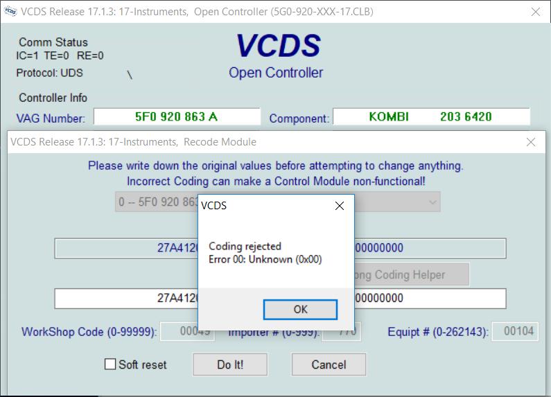 VAGCOM/VCDS compilation | SEATCupra net Forums