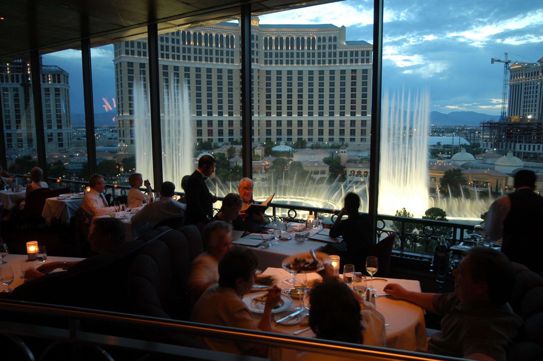 The Eiffel Tower Restaurant Las Vegas
