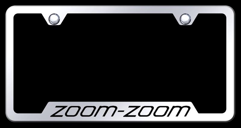 Mazda License Plate Frame Zoom - Best Plate 2018