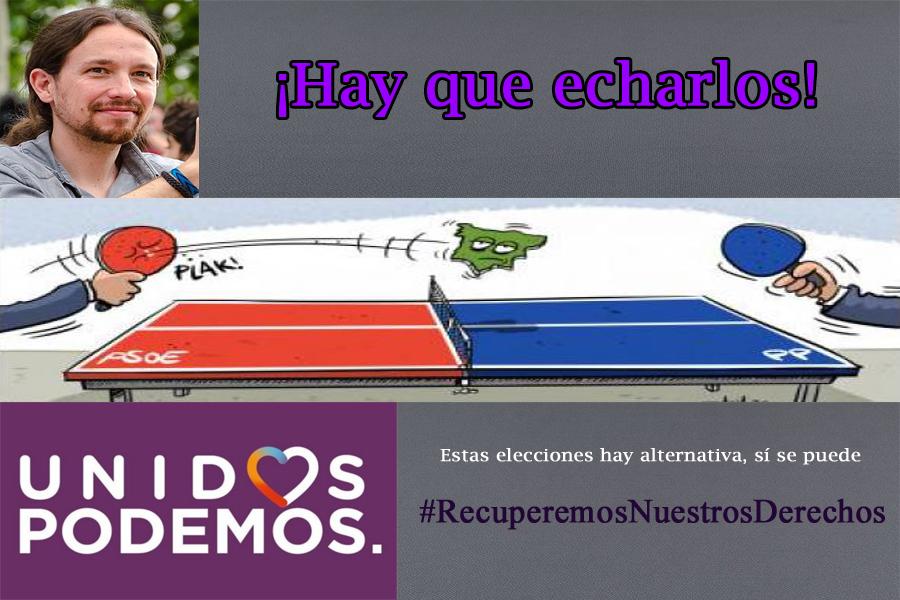 [UP] Campaña electoral Podemoscartel