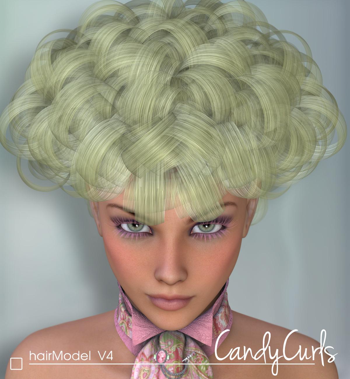 Candy Curls – Hair V4