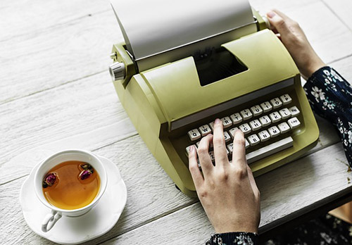 Your typewriter is your friend, not your enemy