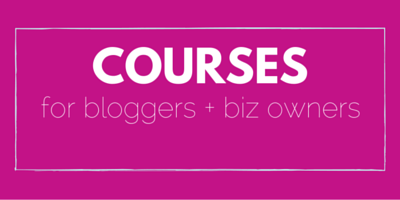 Courses for blog + biz owners. PR course for more sales, followers, traffic and freedom in your life!