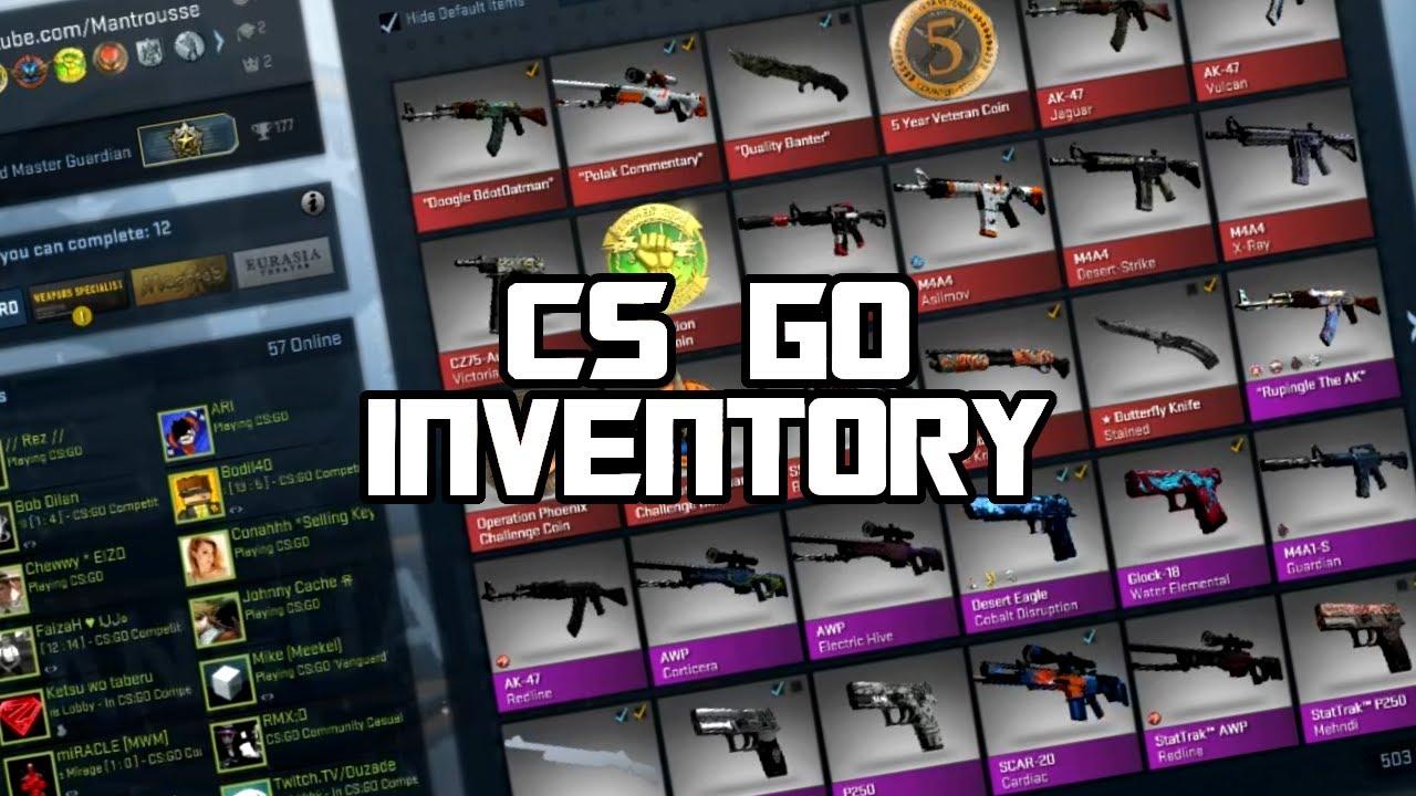 CSGO + Инвентарь от 6-60$ + ТОП ИГРЫ! уровень стим