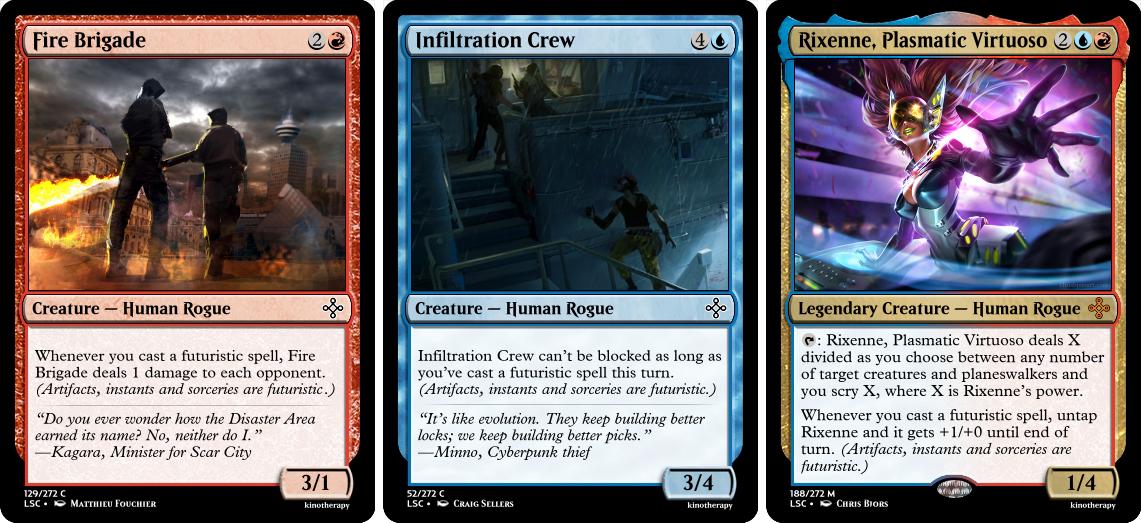 Fire Brigade, Infiltration Crew, Rixenne, Plasma Virtuoso
