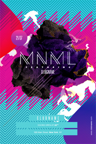Modern minimal party flyer template - 42