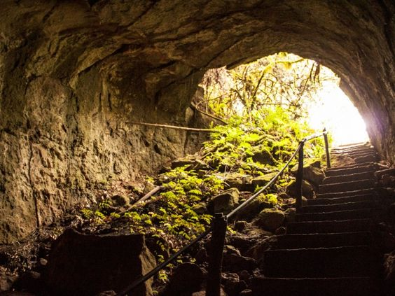 Túneles de Lava - Santa Cruz