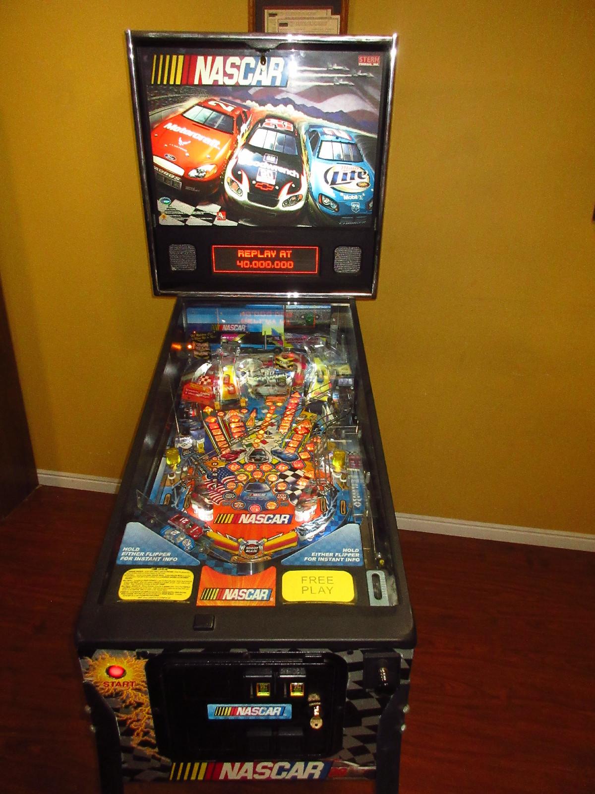 Stern Pinball 🏁 🏎️ 🏁 NASCAR 🏁 🏎️ 🏁 Pinball Machine
