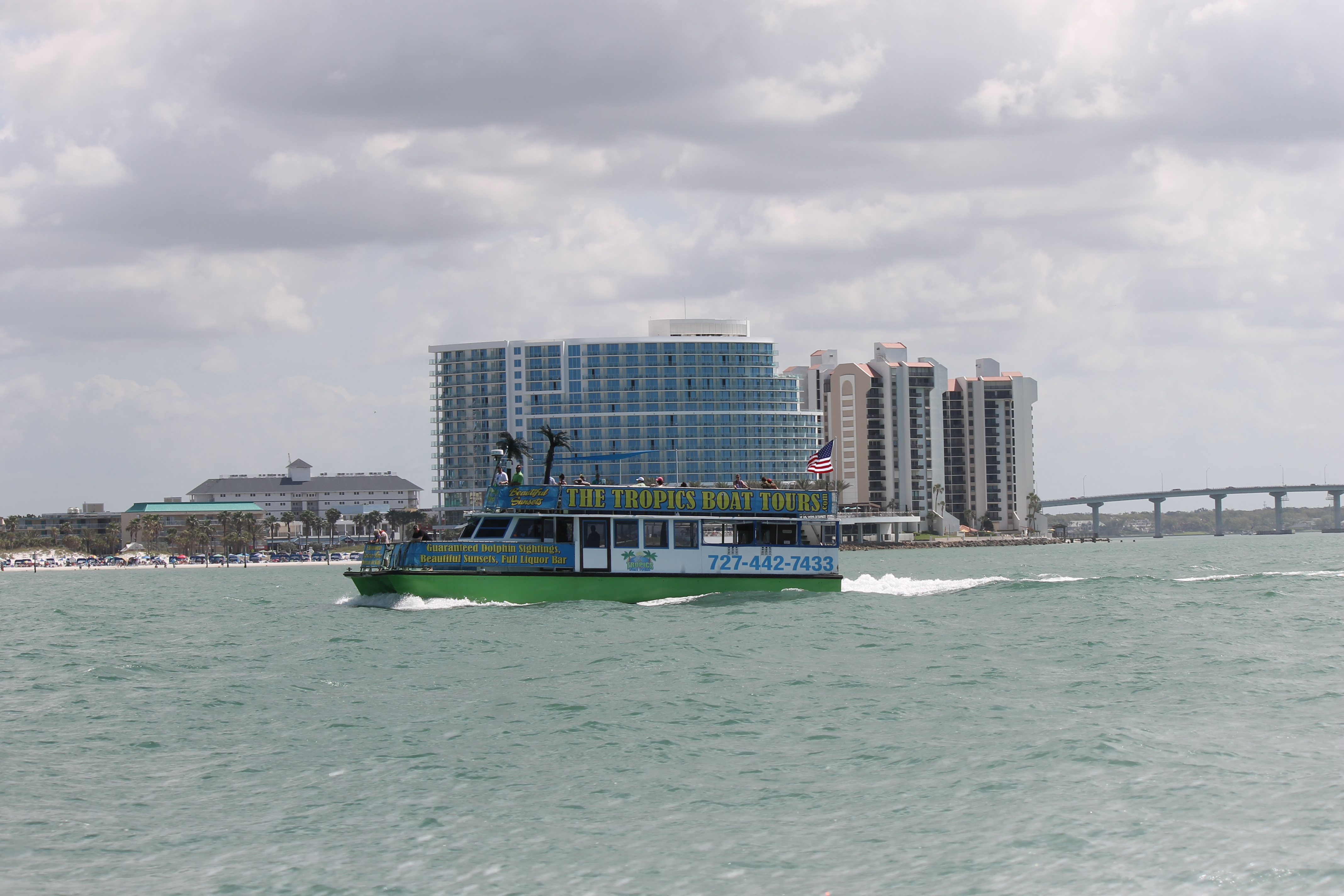 Tropics Boat Tours Clearwater