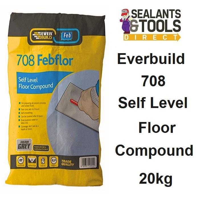 Everbuild Febflor Self Levelling compound 20kg Sel20