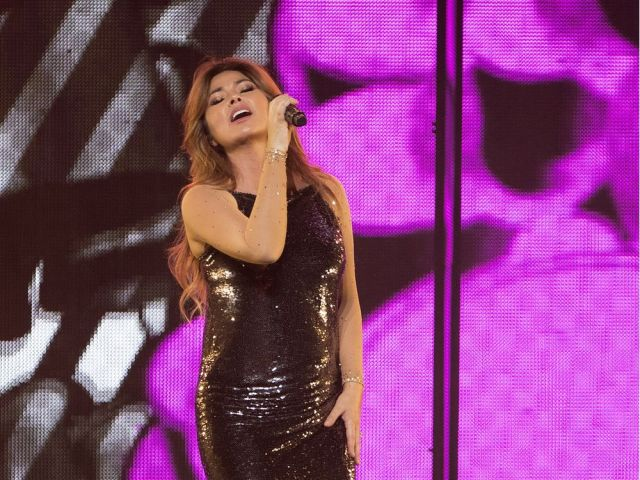 MONTREAL QUE JUNE 26 2018 Shania Twain performs in Montreal on Tuesday June 26 2018 Allen Mc Innis M