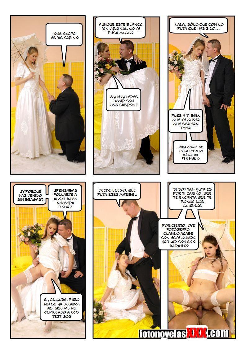 antes de la boda 2 fotonovela pag1