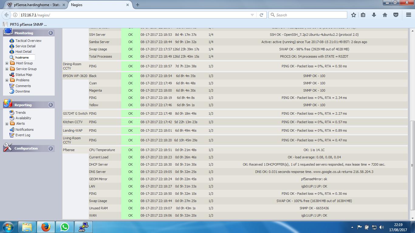 Pfsense Nagios Monitoring SNMP/NRPE help! | Netgate Forum