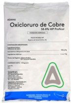 Copper oxychloride, product for ecological treatment of the repilo, sack