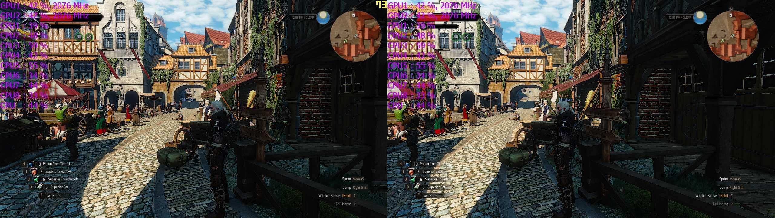 3D Vision CPU Bottelneck: Gathering Information thread