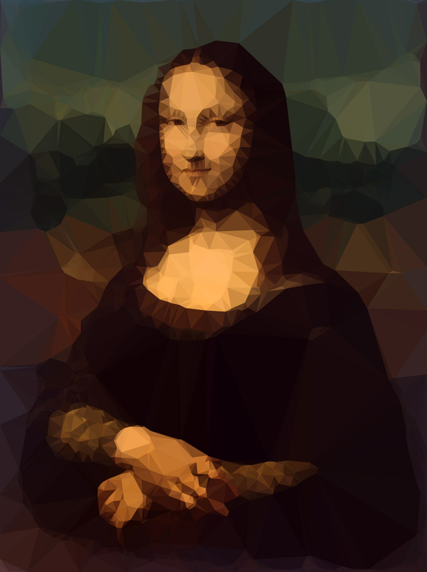 Mona_Lisa_Low_Poly_Portrait