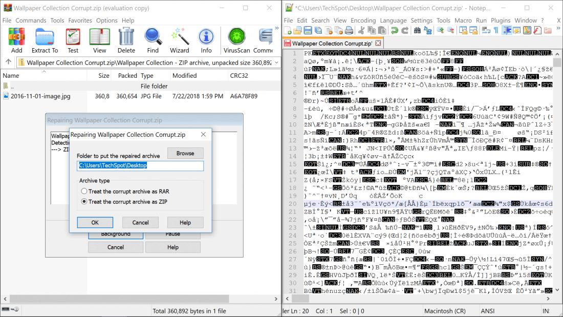 Cara Memperbaiki File Zip Yang Corrupt Combro
