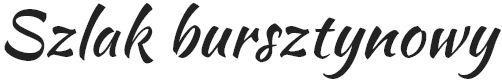 Szlak bursztynowy logo