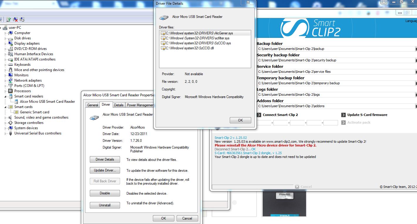 ALCOR MICRO SMART CARD WINDOWS XP DRIVER DOWNLOAD