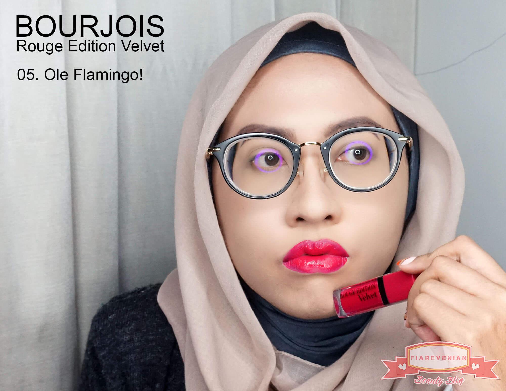 Bourjois_Rouge_Edition_Velvet_ 05._Ole_Flamingo!