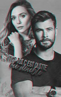 Elizabeth Olsen & Chris Hemsworth [avatars] Leandre02b