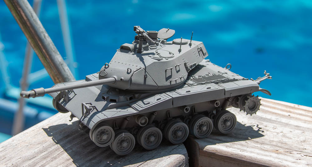M41 that is on hold while I learn weathering and detailing techniques