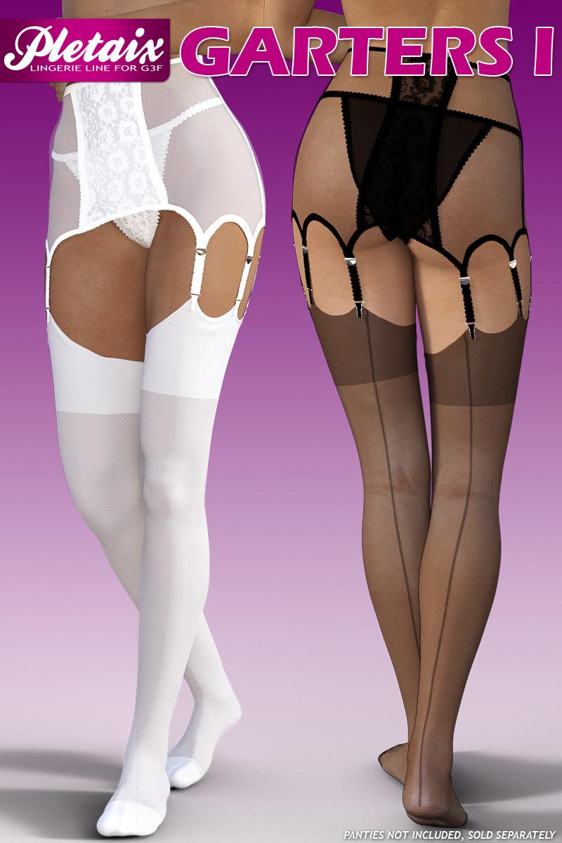 Pletaix Garters I for G3 female(s)