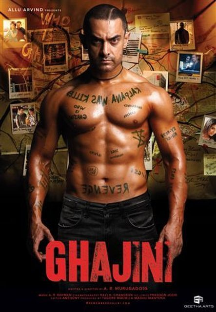 Ghajini (2008) BluRay 720p 1.3GB