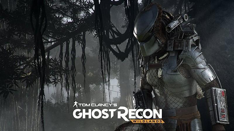 Game bắn súng Ghost Recon Wildlands bất ngờ xuất hiện... quái vật Predator