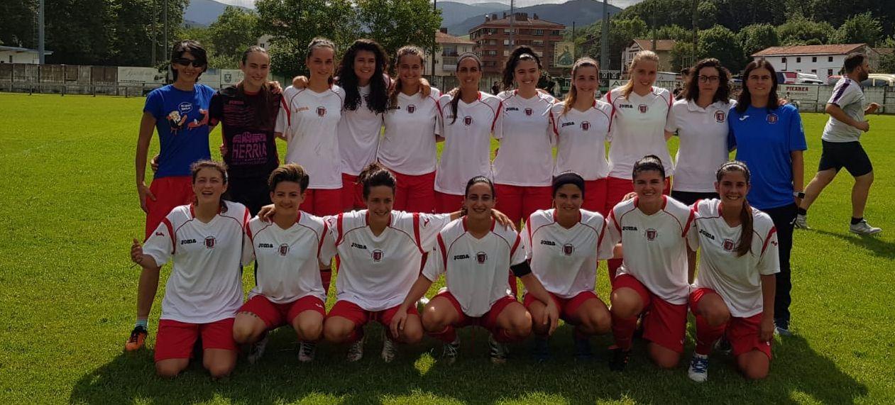 BERRIOAR CF - Foto Twitter Club - 2º Equipación