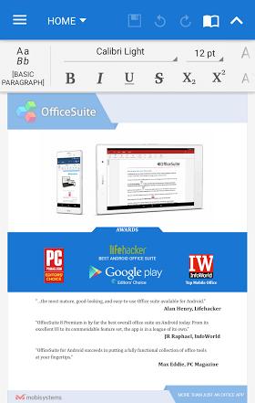 OfficeSuite Pro + PDF 9.4.12693 APK