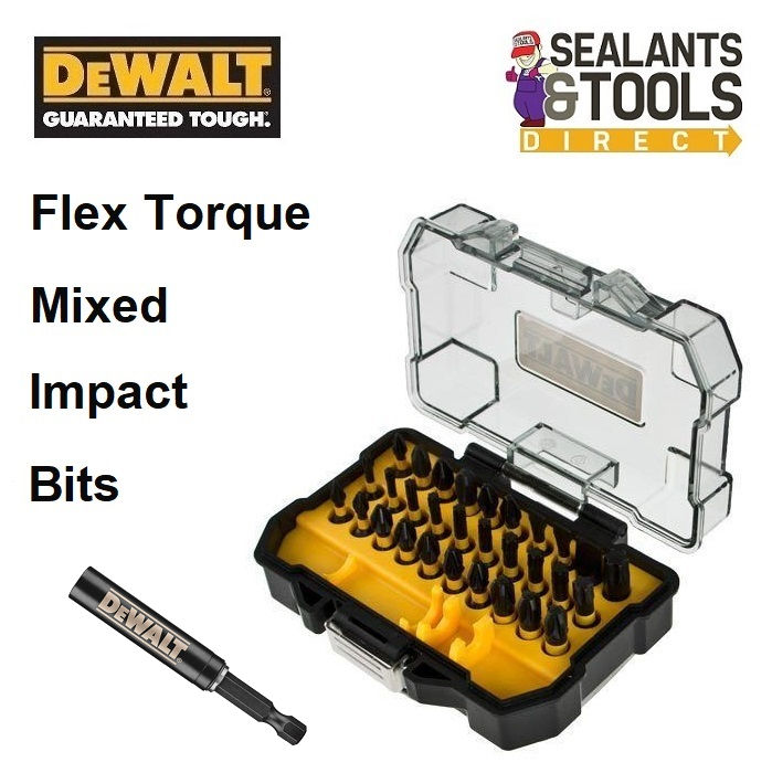 DEWALT Flex Torque Mixed Impact Bit 32pc Set XMS18TORQ32