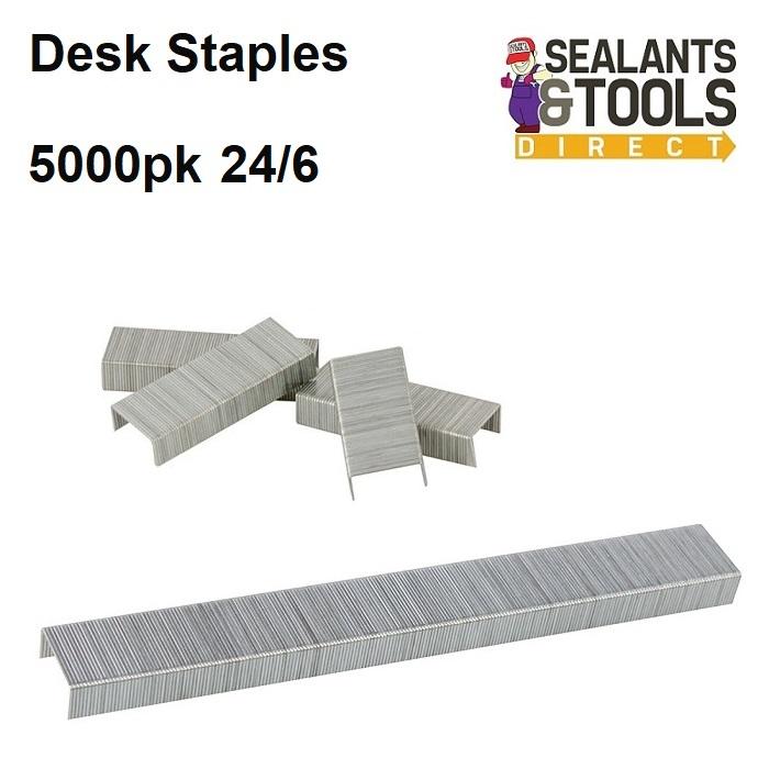Desk Staples 5000pk 24/6 12.8 x 6mm 343711