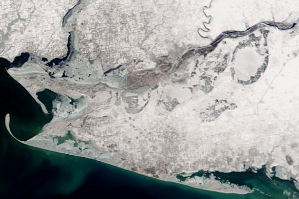 MODIS Terra, 5 березня 2018 р.