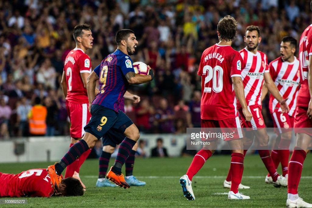 صور مباراة : برشلونة - جيرونا 2-2 ( 23-09-2018 )  Lll