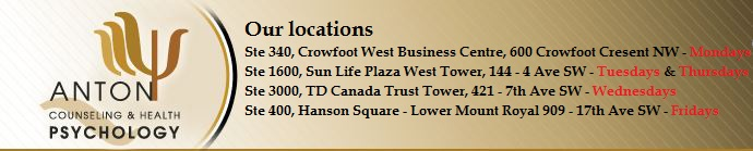 Counselling locations