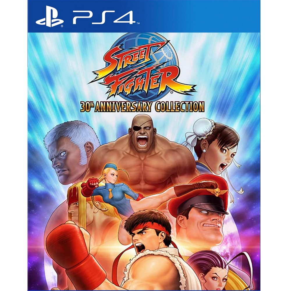 PS4 Street Fighter 30 Anniversary Collection (Basic) Digital Download