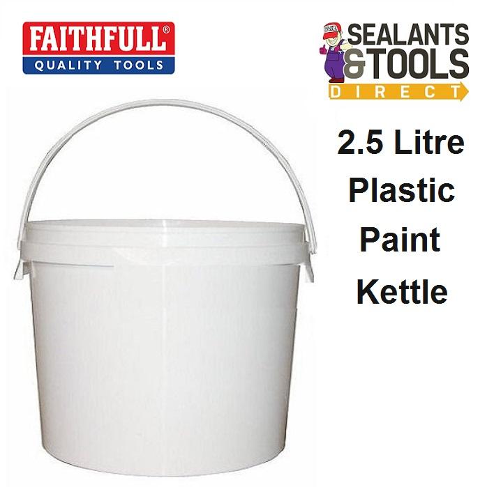 Faithfull Plastic Paint Kettle 2.5 Litre