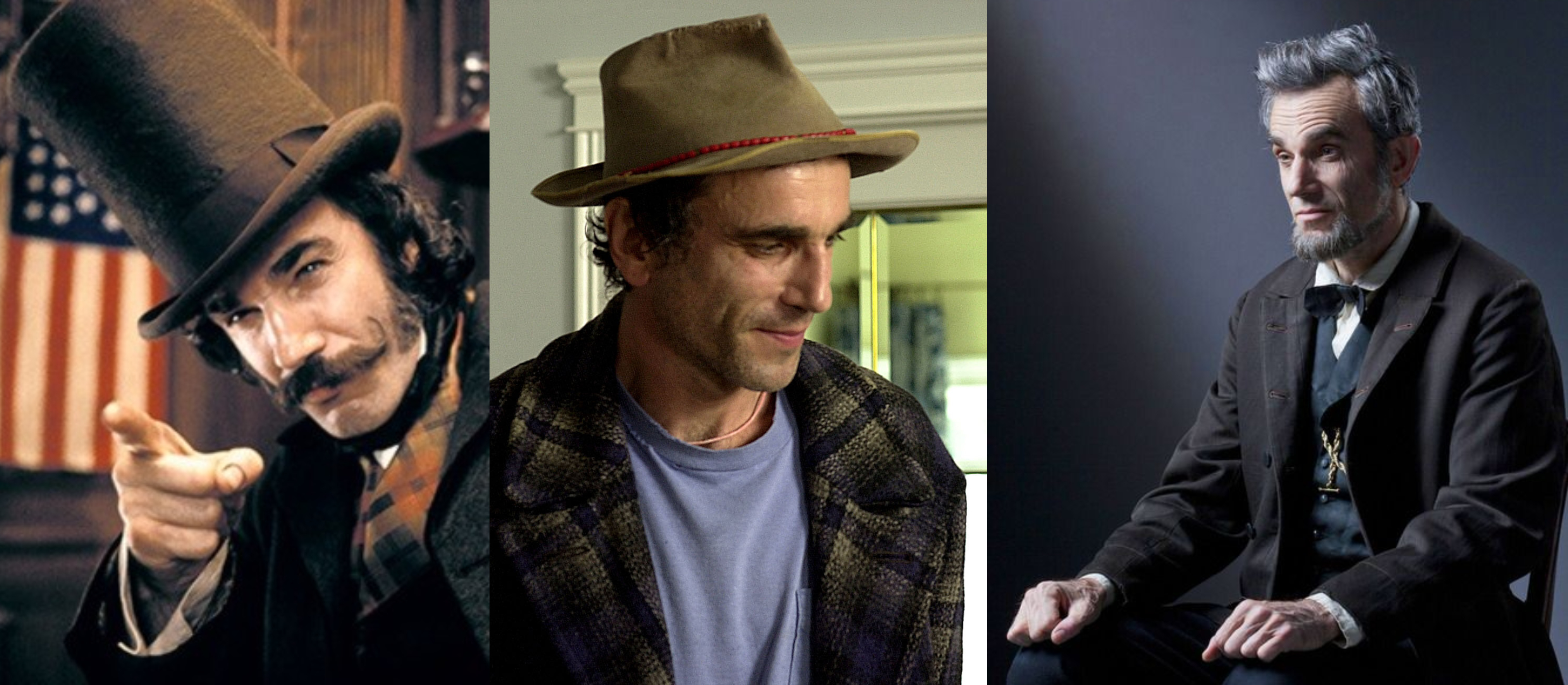 Daniel Day Lewis Characters