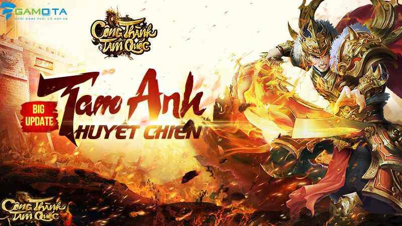 Game thủ Việt háo hức đón đợi big update của Công Thành Tam Quốc